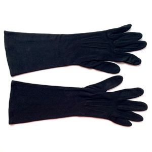 Accessories - Vintage Black Dress Gloves